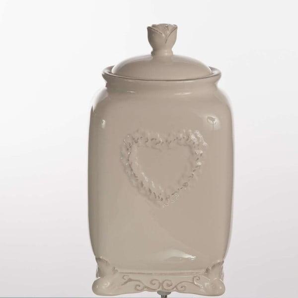 Ceramiczny pojemnik Cuore, 25 cm