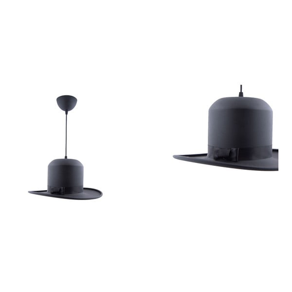 Lampa wisząca Woman Hat Black/Gold