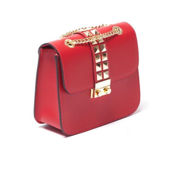 Skórzana torebka Sofia Cardoni 3027 Rosso