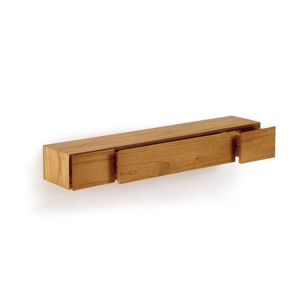 Półka ścienna z szufladami Natural