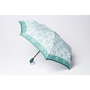 Składany parasol Damask, zielony