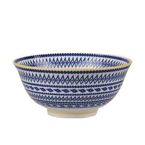 Porcelanowa miska Animal Colored Blue/Yellow, 15.5 cm
