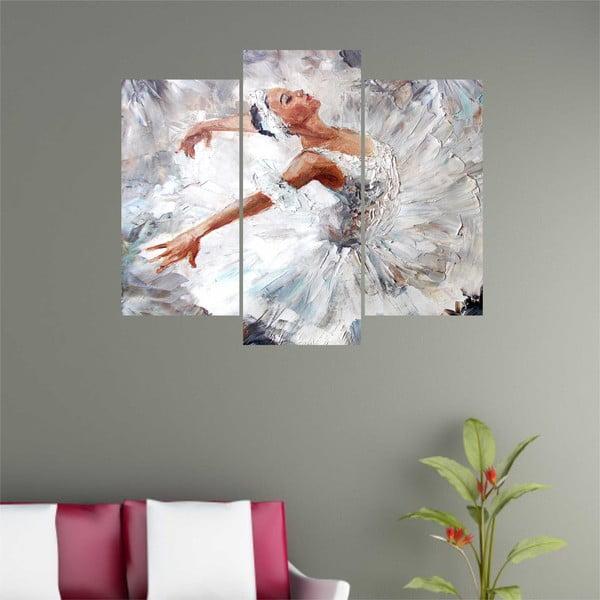 Trzyczęściowy obraz Ballet
