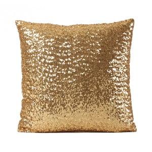 Poszewka   na poduszkę w złotej barwie Luxuro, 40x40 cm