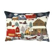 Dwustronna poduszka Snowy Dream, 33x48 cm