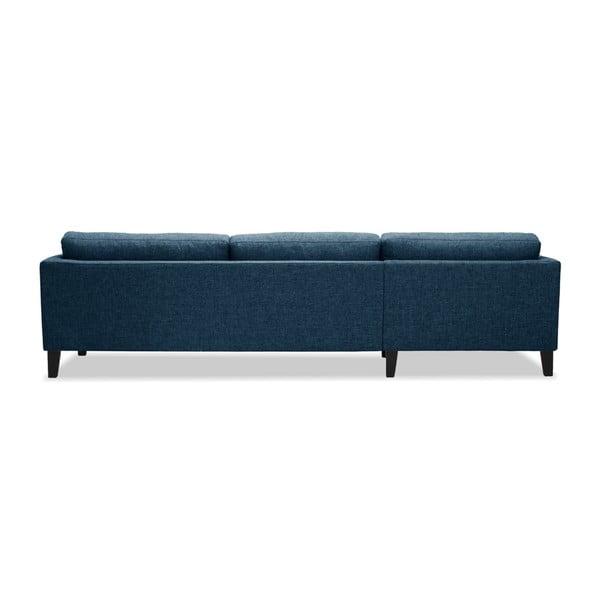 Niebieska sofa z szezlongiem po lewej stronie Vivonita Monroe