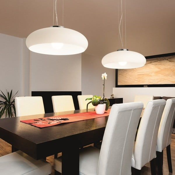Lampa wisząca Evergreen LightsWhite Difu
