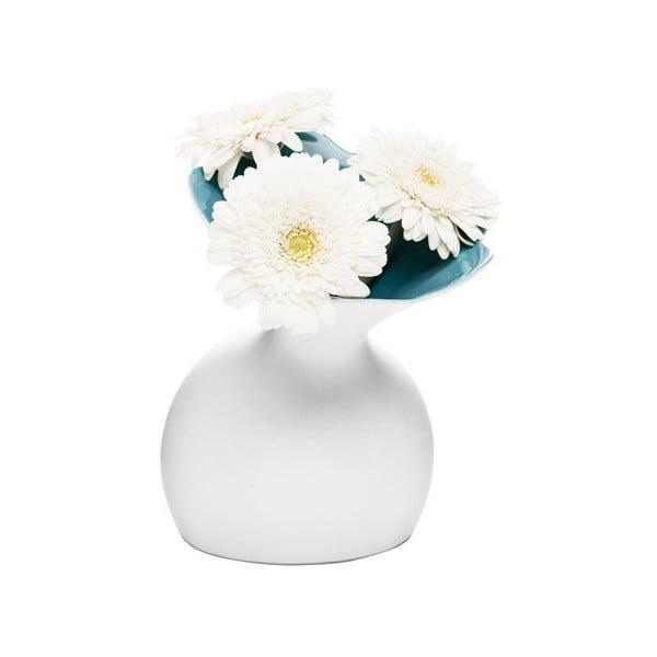 Niebieski wazon Sagaform Lily