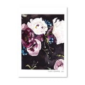 Plakat Americanflat Blooms on Black V by Claudia Libenberg, 30x42 cm
