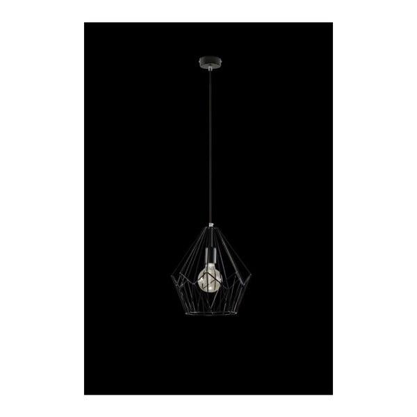 Czarna lampa wisząca Nice Lamps Bogart