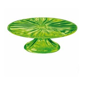Zielona patera na tort Fratelli Guzzini Cake