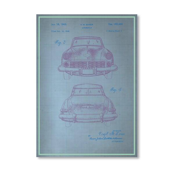 Plakat Studebaker II, 30x42 cm