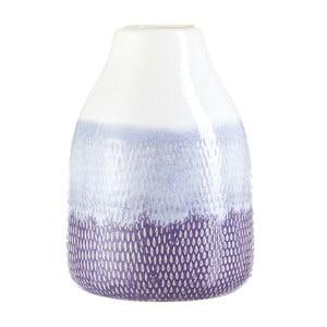 Biało-niebieski wazon A Simple Mess Svale