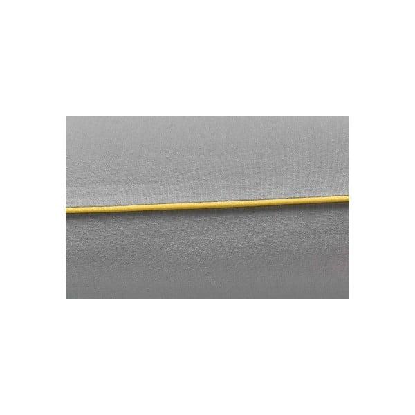 Szara pościel Mumla, 200x220cm