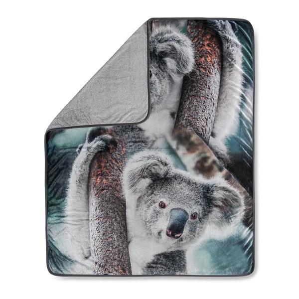 Koc Muller Textiels Koala Grey, 130x160 cm