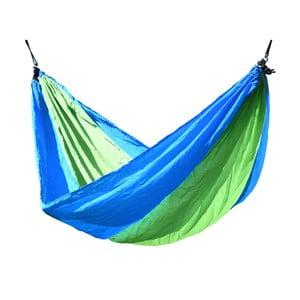 Zielono-niebieski hamak Cattara Nylon