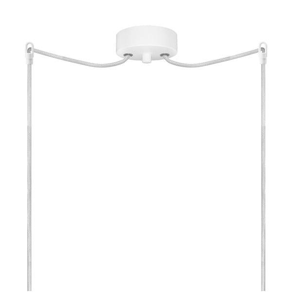 Podwójna lampa Paipu Elementary, mleczna matowa/biała/biała/biała