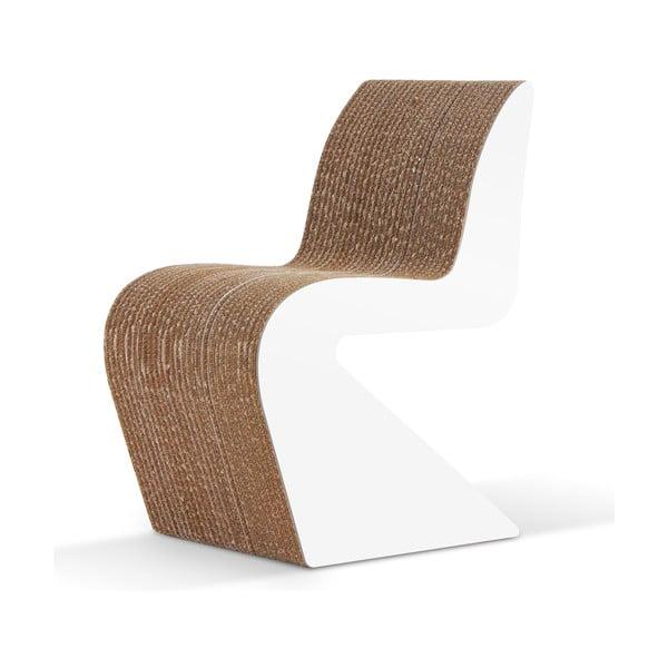 Kartonowe krzesło Amanda White