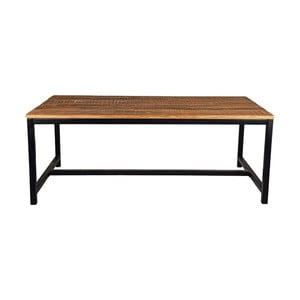Stół z blatem z drewna mangowca LABEL51 Brussel, 200x90 cm