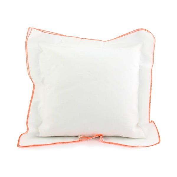 Poszewka na poduszkę Basic Fluor orange, 40 x 40 cm