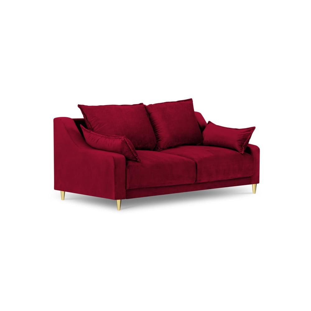Czerwona sofa 2-osobowa Mazzini Sofas Pansy