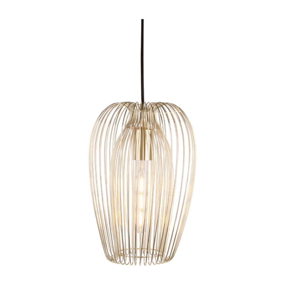 Pozłacana lampa sufitowa Leitmotiv Lucid Large
