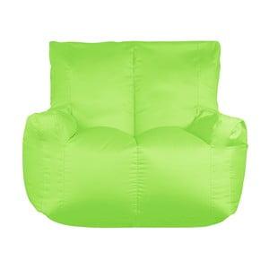 Zielony worek do siedzenia dwuosobowy Sit and Chill Coron