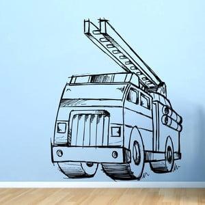 Naklejka Strażacy, 75x60 cm