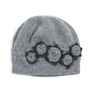 Szara   czapka Molly