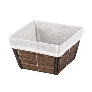 Brązowy koszyk Wenko Bamboo S