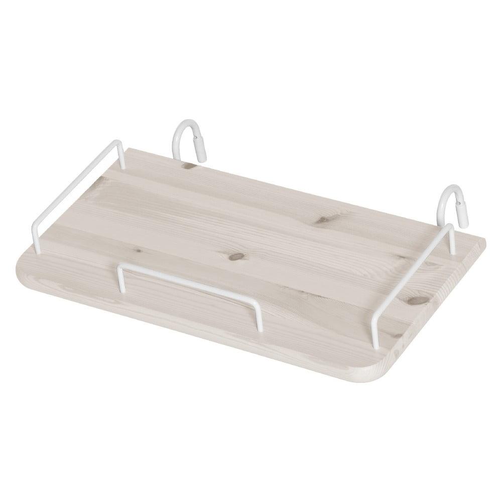 Biała Półka Z Drewna Sosnowego Do łóżka Dziecięcego Flexa Classic Bonami