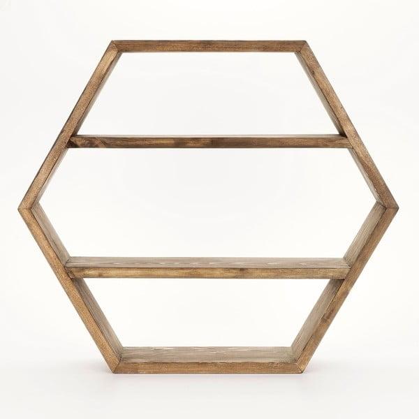 Półka drewniana Honeybee