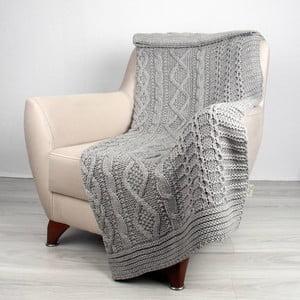 Koc Totu Grey, 130x170 cm