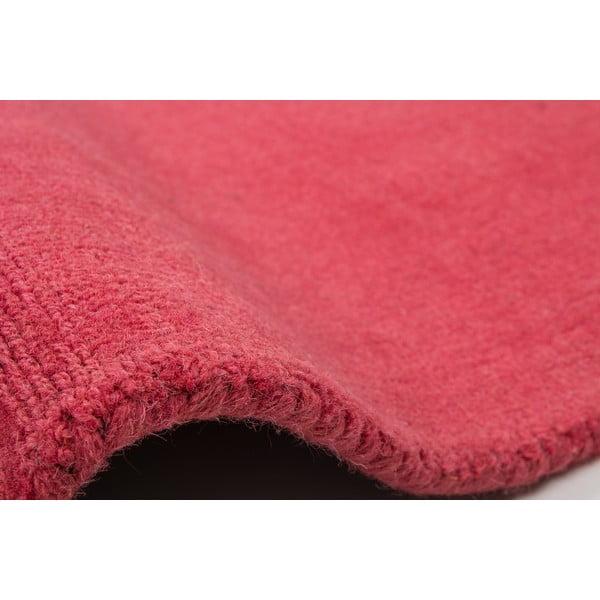 Dywan wełniany Tiffany 120x170 cm, intensywnie różowy