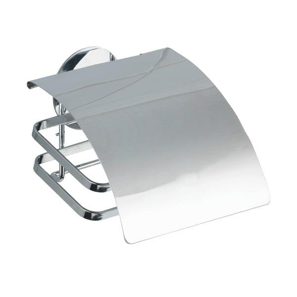 Samoprzyczepny stojak na papier toaletowy z przykrywką Turbo-Loc, do 40 kg