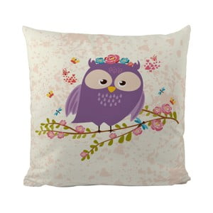 Poduszka   Flower Owl, 50x50 cm
