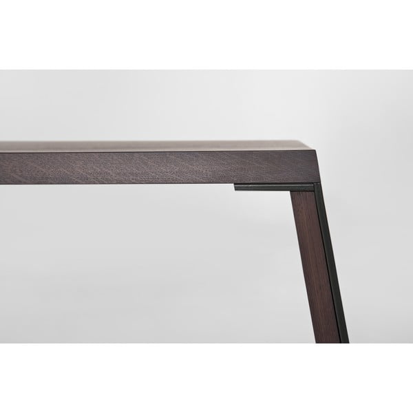 Stół do jadalni z litego drewna E-klipse AL2, 180cm
