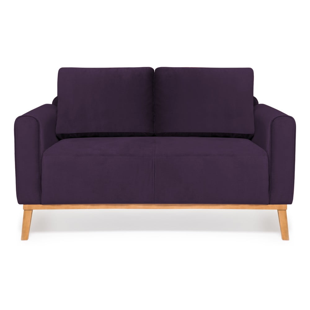 Fioletowa sofa 2-osobowa Vivonita Milton Trend