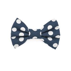Mucha dla psa Funky Dog Bow Ties, roz. S, niebieska w grochy