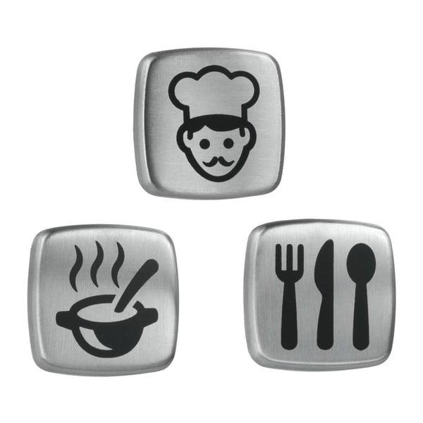 Zestaw 3 magnesów Kitchen