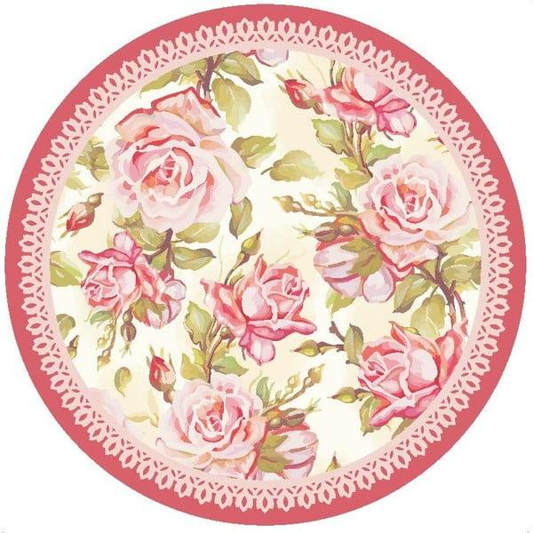 Zestaw 2 mat stołowych Roses