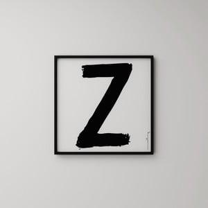 Plakat Litera Z, 50x50 cm