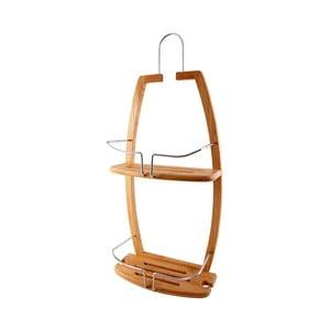 Zawieszana bambusowa półka