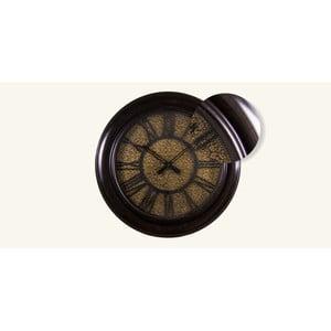 Zegar naścienny, złota tarcza