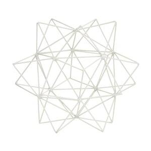 Dekoracja 3D Star White