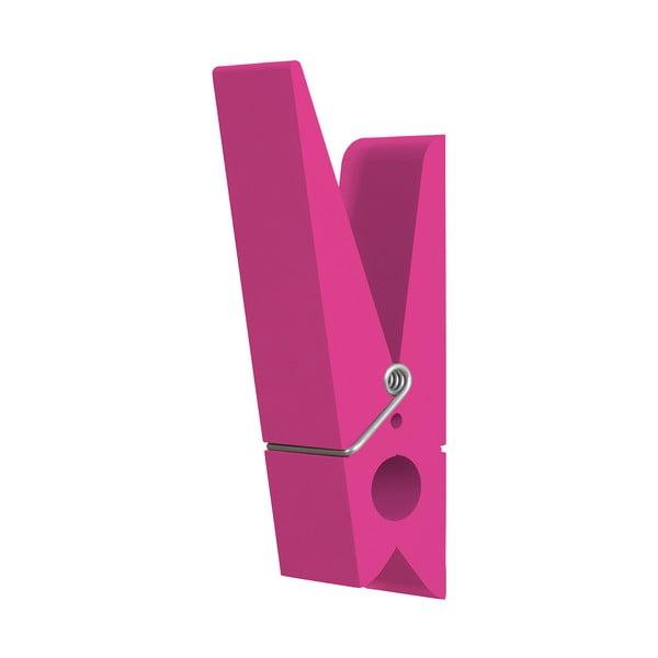 Różowa klamerka dekoracyjna SwabDesign