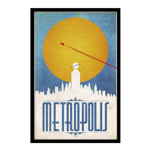 Plakat Metropolis, 35x30 cm