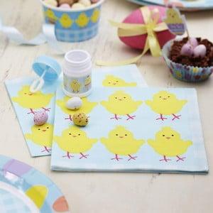Zestaw 20 papierowych serwetek Neviti Easter Chick