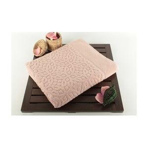 Różowy dywanik łazienkowy Bath Powder, 60x100 cm