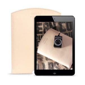 Skórzane etui na iPad Air Cream